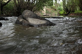 Fish River (Oberon) - Fish River, pictured near O'Connell, 2013