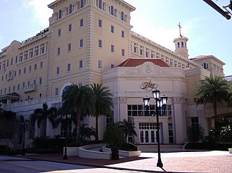 Flag Building - Front entrance of Flag Building