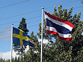 Flags of Sweden and Thailand.jpg