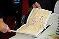 Flickr - boellstiftung - geöffnetes Exemplar der Romanskizzen (4).jpg
