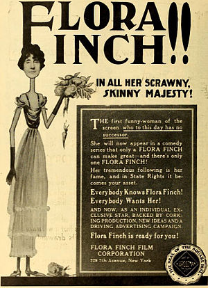 Flora Finch - Advertisement (1917)