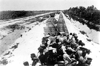1906 Florida Keys hurricane - Image: Florida East Coast Railway's Overseas Extension 1906