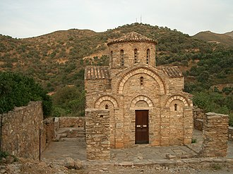 El Greco - Byzantine chapel at Fodele, Crete, in Greece, where El Greco was born