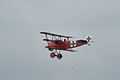 Fokker Dr.I Manfred Richthofen Pass 08 Dawn Patrol NMUSAF 26Sept09 (14596625701).jpg