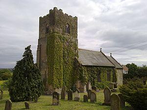 Folkton - Image: Folkton St John Church June 2009 (Nigel Coates)