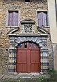 Fontaines Saint-Martin, château du Buisson (portail classé).jpg