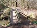 Footbridge in Whetsted Wood - geograph.org.uk - 1212363.jpg