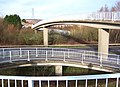 Footbridge over Snodland bypass - geograph.org.uk - 665682.jpg