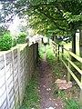 Footpath - Silcoates Lane - geograph.org.uk - 992618.jpg