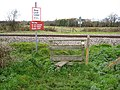 Footpath across the railway - geograph.org.uk - 1054654.jpg