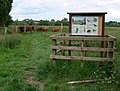 Footpath onto the Cossington Meadows - geograph.org.uk - 853292.jpg