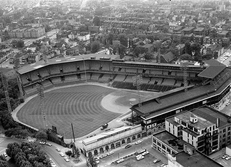 Forbes Field about 1963
