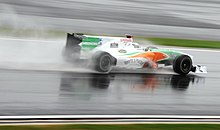 Photo de la Force India VJM03 d'Adrian Sutil en Corée du Sud