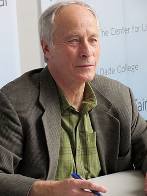 Richard Ford - Autograph session, Miami Book Fair International, 2014