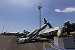 Former Ecuadorian Air Force Lockheed AT-33A destroyed in the 2016 Ecuador earthquake.jpg