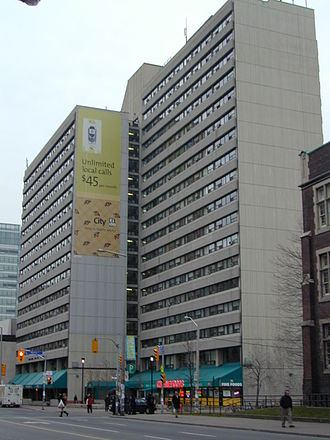 Rochdale College - The building that used to house Rochdale College, on Bloor Street in Toronto
