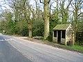 Former bus shelter - geograph.org.uk - 1805518.jpg