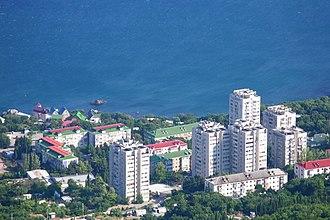 Foros, Crimea - Image: Forros Crimea