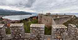 uma fortaleza medieval