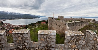 First Bulgarian Empire - Samuel's Fortress in Ohrid