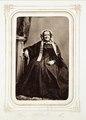 Fotografiporträtt på Fredica Hök, f. Arrhenius, 1800-tal - Hallwylska museet - 107815.tif