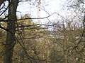 Frühling Alter Botanischer Garten mit Neubau Zentrale Universitätsbibliothek (ZUB) Marburg 2016-04-09.JPG