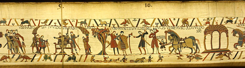 useful bayeux tapestry source events surrounding norman The bayeux tapestry is an important source for the events leading to the norman  conquest of england in 1066, and the history of england and normandy more.