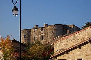 Exoudun - The fortified house in Exoudun