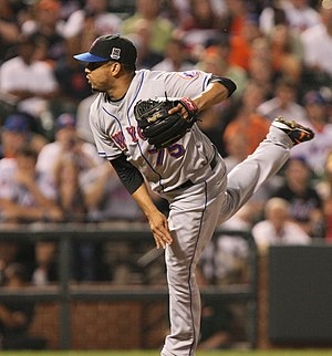 Francisco Rodríguez (Venezuelan pitcher) - Rodríguez pitching for the New York Mets in 2009