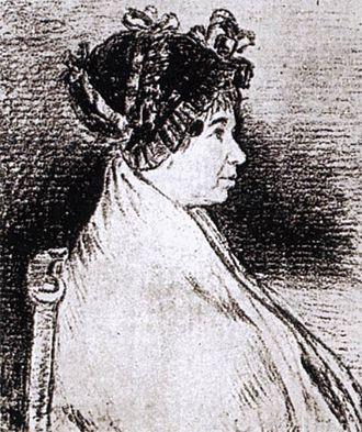 Josefa Bayeu - Image: Francisco de Goya y Lucientes Josefa Bayeu WGA10157