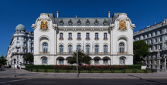 french embassy in Vienna, Austria
