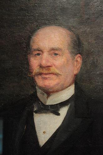 Frederick John Horniman - Frederick Horniman by Trevor Haddon (detail)
