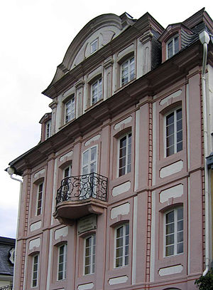 Ferdinand Freiligrath - Ferdinand Freiligrath lived in Unkel 1839/40