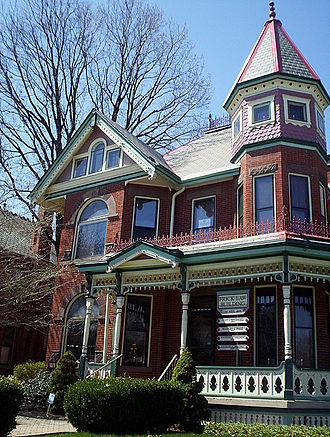 Victorian Village - One of many grand homes lining Neil Avenue
