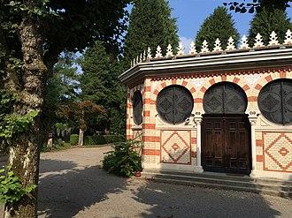 Israelitische Cultusgemeinde Zürich (ICZ) - Cemetery hall at Unterer Friesenberg cemetery