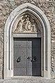 Friesach Stadtgrabengasse 5 Dominikaner-Ordenskirche hl Nikolaus W-Portal 28102016 5215.jpg