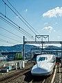 Front of the Shinkansen (28217907218).jpg