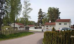 Villakvarter i Bergvik