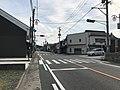 Fukuoka Prefectural Road No.473 near Tento Station.jpg