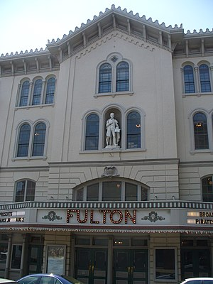 Jeanne Clemson - Clemson is credited with saving the Fulton Opera House.