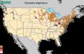 Fundulus diaphanus range map.png