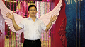 Funny Chinese Man with Angel Wings from China.png