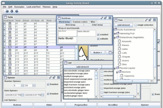 GNU Classpath - Image: GC Swing Demo