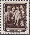 GDR-stamp Hl. Familie Mantegna 1957 Mi. 586.JPG