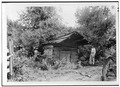 GENERAL VIEW OF SPRINGHOUSE - Walker Family Farm, Springhouse, Gatlinburg, Sevier County, TN HABS TENN,78-GAT,1D-2.tif