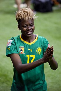 Gaëlle Enganamouit Cameroonian footballer