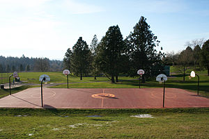 Gabriel Park - Basketball Courts inside the park