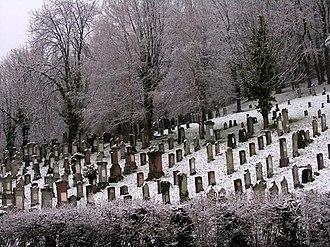 Gailingen am Hochrhein - Jewish cemetery in Gailingen