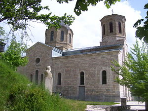 Galičnik - Image: Galichnik St Peter&Paul Church