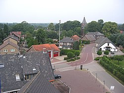 Garderen seen from De Hoop windmill